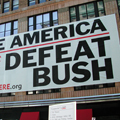 """Save America—Defeat Bush"" by Unite Here."