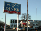 Pennys Diner in Fairfield CT.