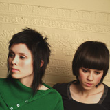 Tegan and Sara Quin. Photograph by Dustin Rabin.