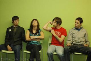 Bella Lea is Matt Clark (guitar), Maura Davis (vocals), Ryan Rapsys (drums), and Stephen Howard (bass).