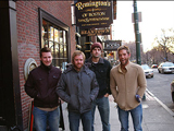 Left to right: Drummer Rob Adams, singer/guitarist Jared Marsh, bassist Tim Peters, and guitarist Michael Jones.