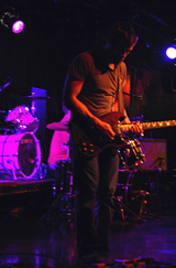 Guitarist Michael Jones at Bostons Paradise Rock Club.